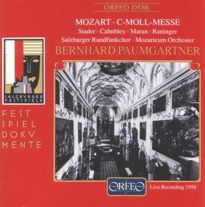 Messe C-Moll Kv 427, Stader, Maran, Paumgartner, Mos