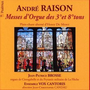 Messe D'Orgue Des 3 Et 8 Tons, Jean-Patrice Brosse