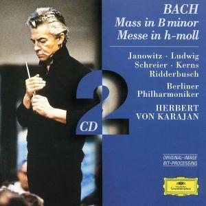 Messe H-Moll Bwv 232, Janowitz, Schreier, Karajan, Bp