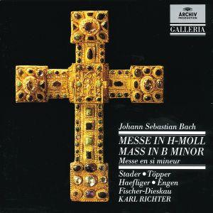 Messe H-Moll Bwv 232, Stader, Töpper, Richter, Mbo