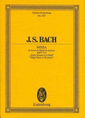 Messe h-Moll, BWV 232, Partitur, Johann Sebastian Bach
