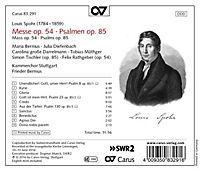 Messe Op.54/Psalmen Op.85 - Produktdetailbild 1