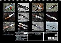 Messer - Leidenschaft in Stahl (Wandkalender 2019 DIN A3 quer) - Produktdetailbild 13
