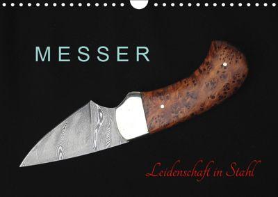 Messer - Leidenschaft in Stahl (Wandkalender 2019 DIN A4 quer), Heribert Saal