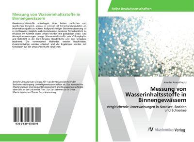Messung von Wasserinhaltsstoffe in Binnengewässern, Jennifer Anna Kreutz