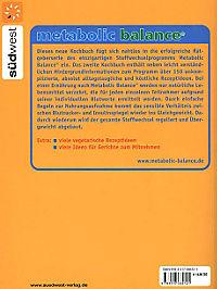 Metabolic Balance, Das Kochbuch - Produktdetailbild 2