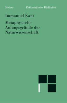 Metaphysische Anfangsgründe der Naturwissenschaft, Immanuel Kant