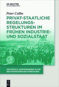 methodica: Privat-staatliche Regelungsstrukturen im fruhen Industrie- und Sozialstaat, Peter Collin