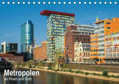 Metropolen an Rhein und Ruhr (Tischkalender 2019 DIN A5 quer), Thomas Seethaler