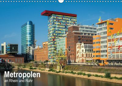 Metropolen an Rhein und Ruhr (Wandkalender 2019 DIN A3 quer), Thomas Seethaler