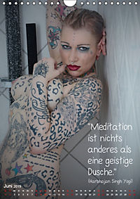 metta.morphin Wandkalender -Spirituelle Erotik- 2019 (Wandkalender 2019 DIN A4 hoch) - Produktdetailbild 6