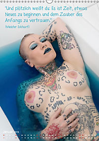 metta.morphin Wandkalender -Spirituelle Erotik- 2019 (Wandkalender 2019 DIN A3 hoch) - Produktdetailbild 1