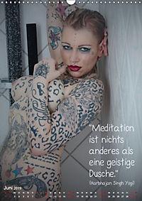 metta.morphin Wandkalender -Spirituelle Erotik- 2019 (Wandkalender 2019 DIN A3 hoch) - Produktdetailbild 6