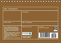 Metz - Ansichtssache (Tischkalender 2019 DIN A5 quer) - Produktdetailbild 8