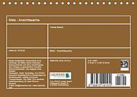 Metz - Ansichtssache (Tischkalender 2019 DIN A5 quer) - Produktdetailbild 13