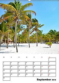 Mexiko - die Karibikküste (Wandkalender 2019 DIN A2 hoch) - Produktdetailbild 9