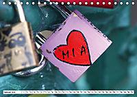 MIA - Namenskalender (Tischkalender 2019 DIN A5 quer) - Produktdetailbild 1
