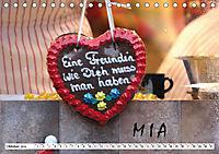 MIA - Namenskalender (Tischkalender 2019 DIN A5 quer) - Produktdetailbild 10
