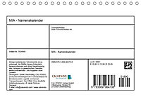MIA - Namenskalender (Tischkalender 2019 DIN A5 quer) - Produktdetailbild 13