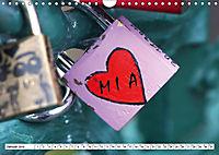 MIA - Namenskalender (Wandkalender 2019 DIN A4 quer) - Produktdetailbild 1