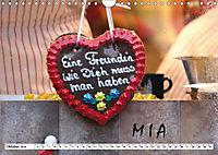 MIA - Namenskalender (Wandkalender 2019 DIN A4 quer) - Produktdetailbild 10
