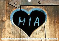MIA - Namenskalender (Wandkalender 2019 DIN A4 quer) - Produktdetailbild 11