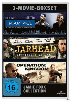 Miami Vice, Jarhead - Willkommen im Dreck, Operation: Kingdom DVD-Box, Michael Mann, Pieter Jan Brugge, William Broyles, Matthew Michael Carnahan