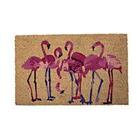 miaVILLA Fußmatte Flamingos Pink - Produktdetailbild 1