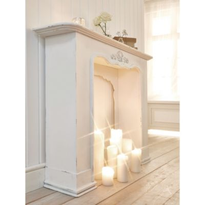 miavilla kaminumrandung victoria wei. Black Bedroom Furniture Sets. Home Design Ideas