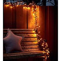 miaVILLA LED-Lichterkette Bernstein Braun/Orange - Produktdetailbild 3