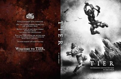 Michael Moran: TIER The Enhanced Role-Playing Game 2nd Edition, Michael Moran