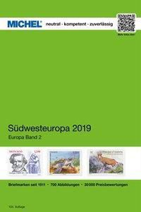 Michel Europa-Katalog: .2 MICHEL Südwesteuropa 2019