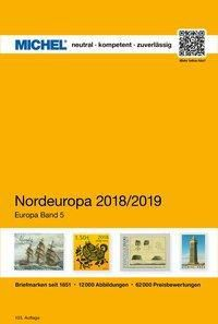 Michel Europa-Katalog: .5 MICHEL Nordeuropa 2018