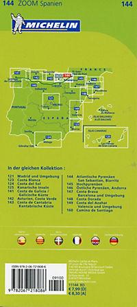 Michelin Karte Atlantische Pyrenäen, San Sebastian, Biarritz; Pays Basque, Nord de la Navarre - Produktdetailbild 1