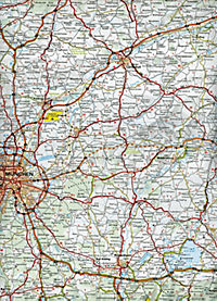 Michelin Karte Bayern; Allemagne Sud-Est, Bavière - Produktdetailbild 1