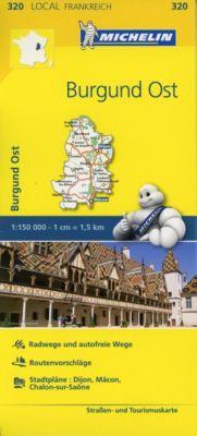 Michelin Karte Burgund Ost -  pdf epub