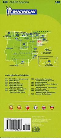 Michelin Karte Costa Dorada - Produktdetailbild 1