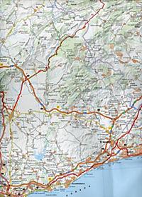 Michelin Karte Costa Dorada - Produktdetailbild 2