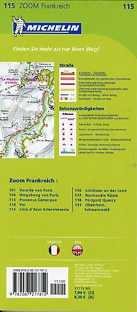 Michelin Karte Côte d'Azur - Esterelmassiv; Cote d' Azur, Massif de l' Esterel - Produktdetailbild 1