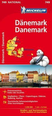 Michelin Karte Dänemark; Danemark