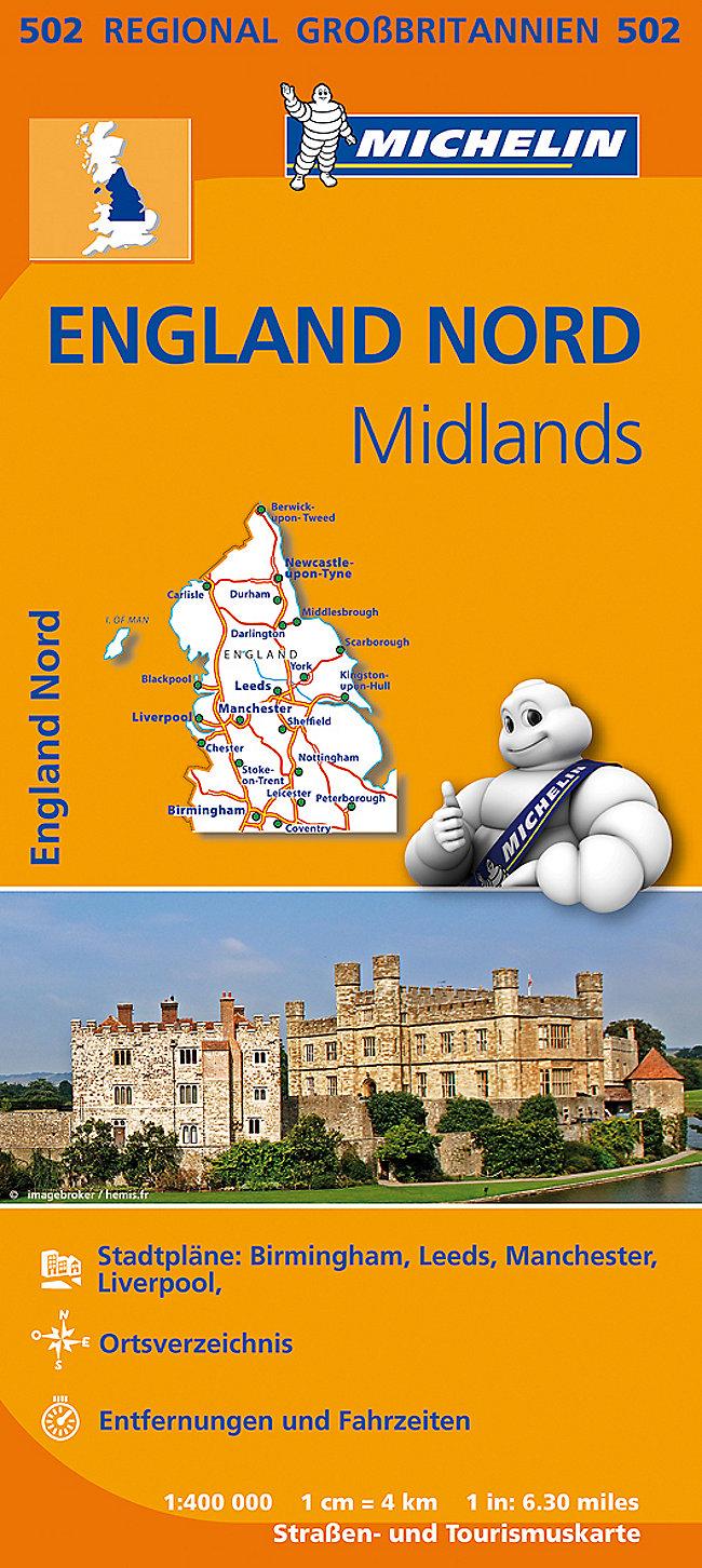 Birmingham Karte.Michelin Karte England Nord Midlands Buch Weltbild Ch