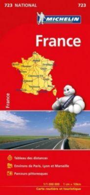 Michelin Karte Frankreich 2017