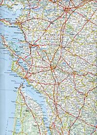 Michelin Karte Frankreich Südwest - Produktdetailbild 2