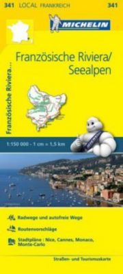 Michelin Karte Französische Riviera, Seealpen; Alpes-Maritimes -  pdf epub