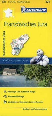 Michelin Karte Französisches Jura
