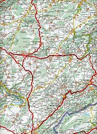 Michelin Karte Französisches Jura - Produktdetailbild 2