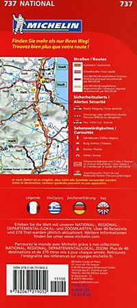 Michelin Karte Griechenland; Grèce - Produktdetailbild 1