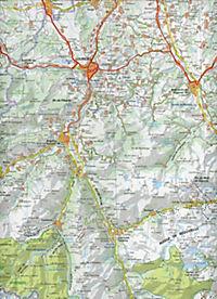 Michelin Karte Hochpyrenäen; Pyrénées Centrales. Béarn, Bigorre, Aragon - Produktdetailbild 2