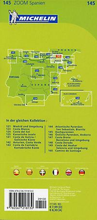 Michelin Karte Hochpyrenäen; Pyrénées Centrales. Béarn, Bigorre, Aragon - Produktdetailbild 1