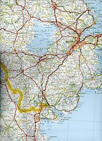 Michelin Karte Irland; Irlande - Produktdetailbild 2